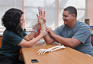 Occupational therapy assistant students