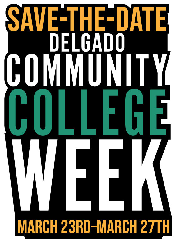 community college week-save the date logo