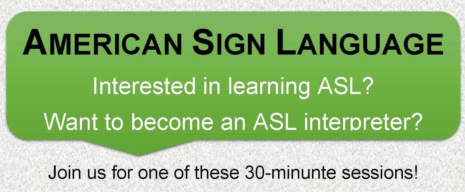 ASL info session
